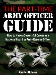 part time army officer guide