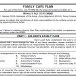The Basics About Army Family Care Plans
