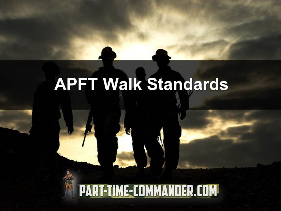Army APFT Walk Standards: Learn More About the 2 5 Mile Walk