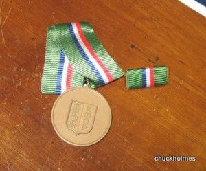 DANCON Road March Medal