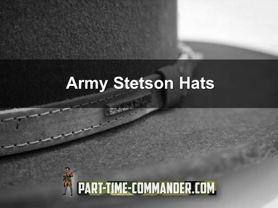 army stetson hats