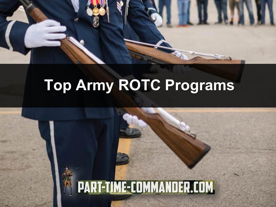 Top Army ROTC Programs