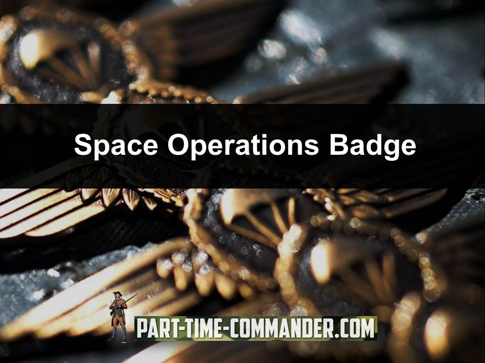 space operations badge