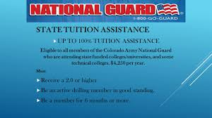 national guard tuition assistance