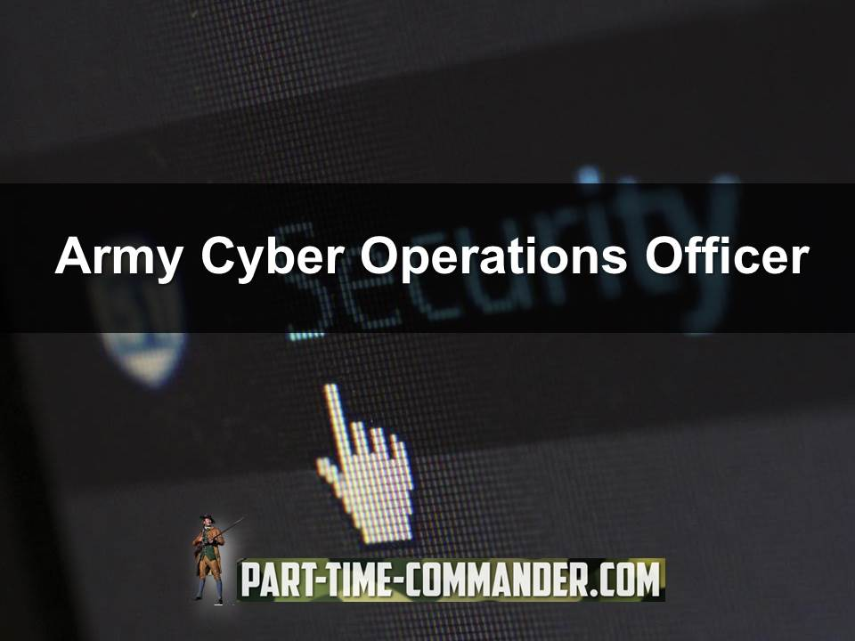 army cyber operations officer