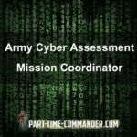 Army Cyber Assessment Mission Coordinator Interview