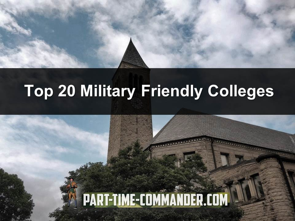Top 20 Military Friendly Colleges